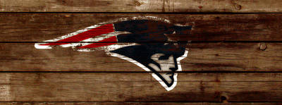 The New England Patriots C1 Print by Brian Reaves