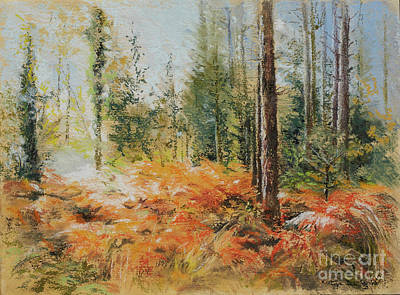 Painting - The New Forest by Kathryn Dalziel