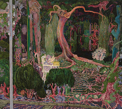 New Generations Painting - The New Generation by Jan Toorop
