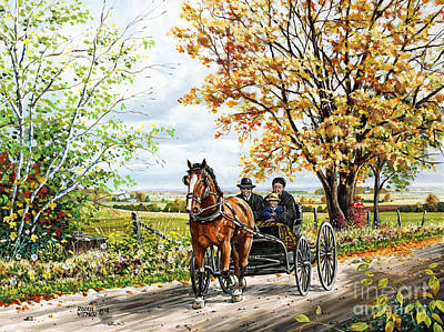 The New Horse Art Print by Roger Witmer