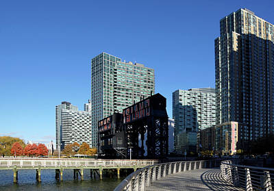 Photograph - The New Long Island City by Cate Franklyn