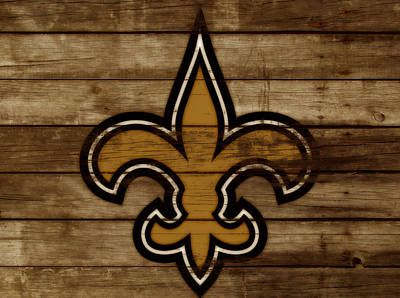 The New Orleans Saints 3a     Art Print
