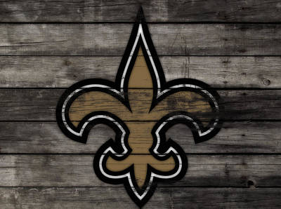 The New Orleans Saints 3b     Art Print