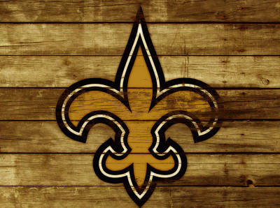 The New Orleans Saints 3c     Art Print