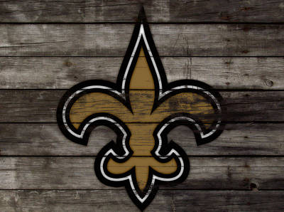 The New Orleans Saints 3e     Art Print