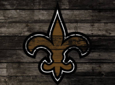 The New Orleans Saints 3f     Art Print