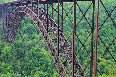 Photograph - The New River Gorge Bridge by Dan Sproul