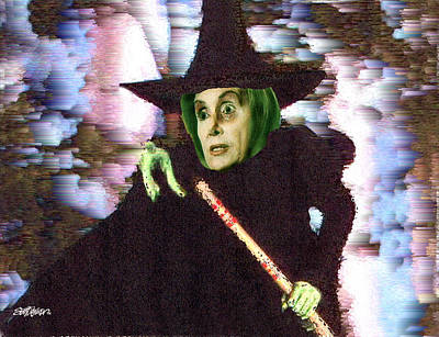 The New Wicked Witch Of The West Print by Seth Weaver