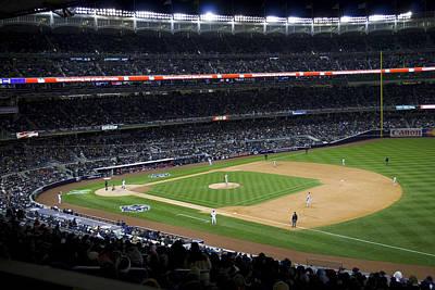 The New Yankee Stadium Art Print by Andrew Kazmierski
