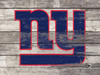 The New York Giants 3h         Art Print