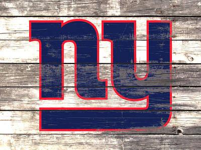 The New York Giants 3i         Art Print