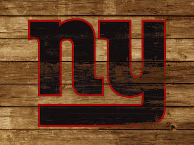 The New York Giants 3j         Art Print