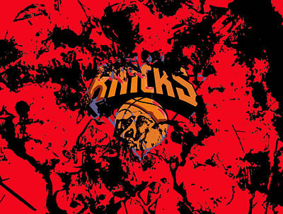 The New York Knicks 1a Print by Brian Reaves