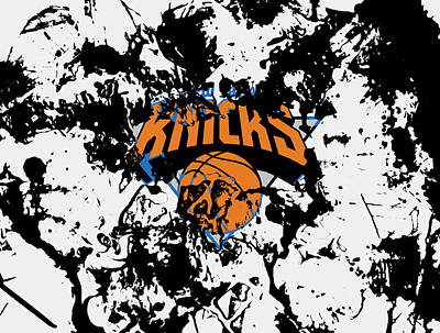 The New York Knicks 1c Print by Brian Reaves