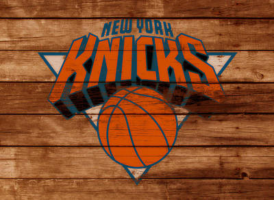 The New York Knicks 3a                        Art Print by Brian Reaves