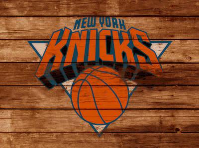 The New York Knicks 3b                        Art Print by Brian Reaves