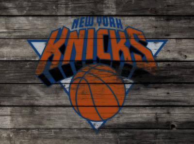 The New York Knicks 3c                        Art Print by Brian Reaves