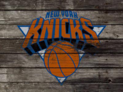 The New York Knicks 3e                        Art Print by Brian Reaves