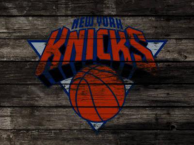 The New York Knicks 3f                       Art Print by Brian Reaves