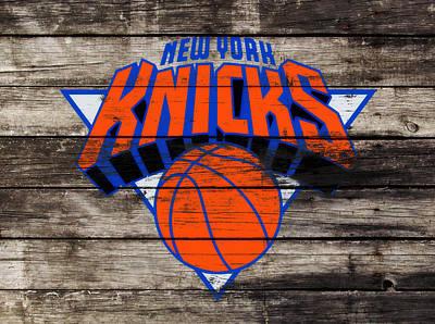 The New York Knicks 3h                       Art Print by Brian Reaves