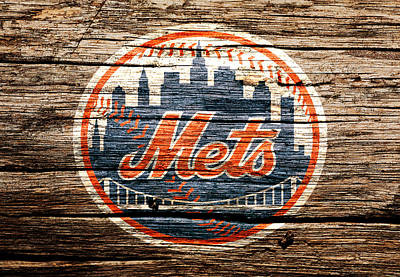 New York Mets Mixed Media - The New York Mets 6c by Brian Reaves