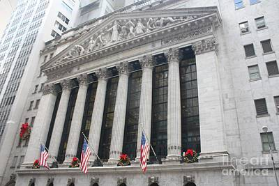 Photograph - The New York Stock Exchange by John Telfer