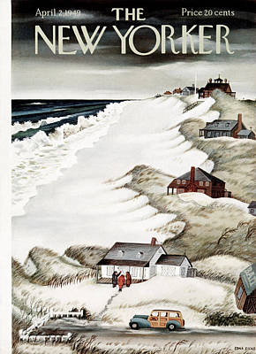 Child Photograph - The New Yorker Cover - April 2nd, 1949 by Conde Nast