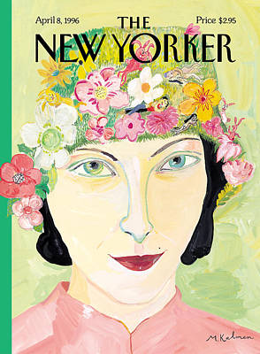 Photograph - The New Yorker Cover - April 8th, 1996 by Maira Kalman