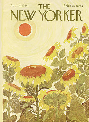 Ilonka-karasz-new-yorker-covers Photograph - The New Yorker Cover - August 24th, 1968 by Conde Nast