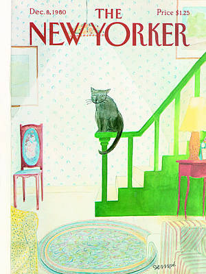 House Pet Photograph - The New Yorker Cover - December 8th, 1980 by Conde Nast