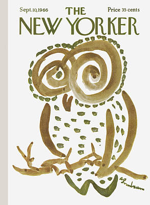 September 10th Photograph - The New Yorker Cover - September 10th, 1966 by Conde Nast