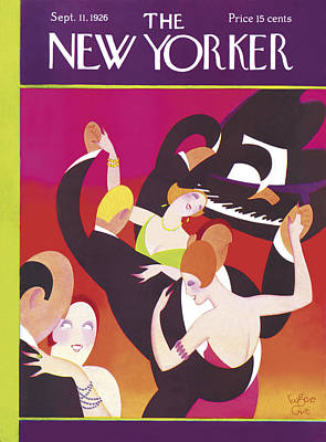 Pianist Photograph - The New Yorker Cover - September 11th, 1926 by Conde Nast