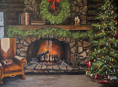 Painting - The Night Before by Alan Lakin