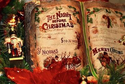Photograph - The Night Before Christmas by Carol Montoya