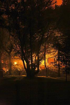The Night Glows Art Print by Megen McAuliffe
