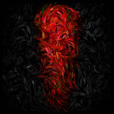 Digital Art - The Night Of The Chili Pepper... by Tim Fillingim
