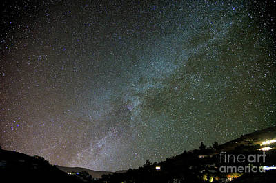 Photograph - The Night Sky Over Competa by Rod Jones