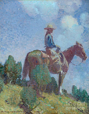 Man On Horse Painting - The Night Watch by MotionAge Designs