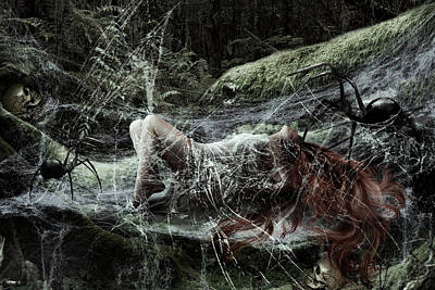 Digital Art - The Nightmare by Karin Claesson