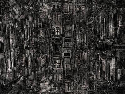 Digital Art - The Nightmare by Kiki Art