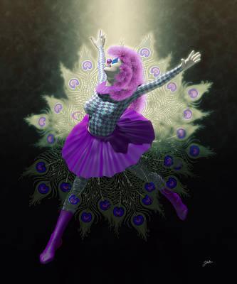 Cabaret Digital Art - The Nights Of Cabiria by Joaquin Abella