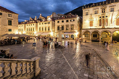 Photograph - The Nights Of Dubrovnik by Didier Marti