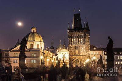 Photograph - The Nights Of Prague by Didier Marti