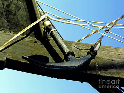 Photograph - The Ninas Anchor by D Hackett