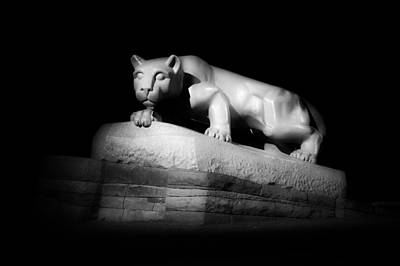 Psu Photograph - The Nittany Lion Of P S U by Mountain Dreams