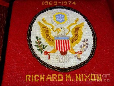 Photograph - The Nixon Kneeler by Ed Weidman