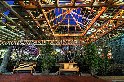 Photograph - The Norman B Leventhal Park On A Spring Night Boston Ma by Toby McGuire