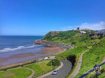 Photograph - The North Bay At Scarborough 2 by Joan-Violet Stretch