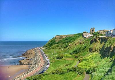 Photograph - The North Bay At Scarborough by Joan-Violet Stretch