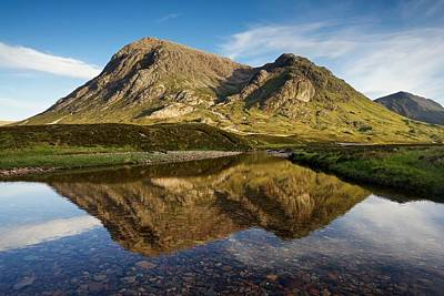 Photograph - The North Face Of The Buachaille by Stephen Taylor